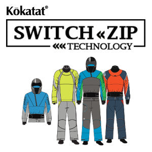 Kokatat SwitchZip Technology