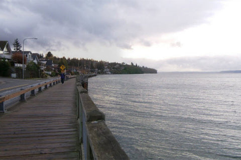 Boardwalk in Redondo Beach, Washington