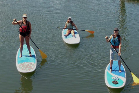 Stand Up Paddleboarding on Dyes Inlet in Silverdale, Washington
