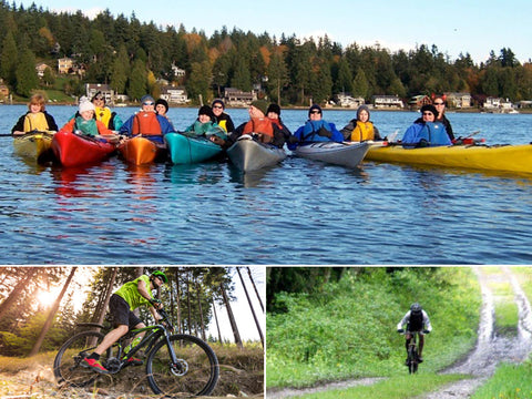 Paddle. Bike. Play. Adventure Tour