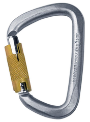 D STEEL CARABINER / TRIPLE LOCK