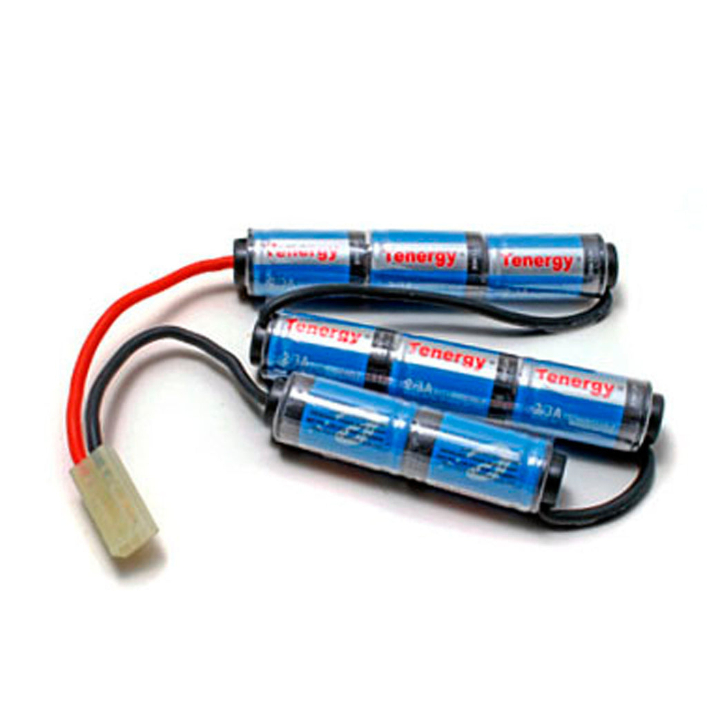 Tenergy 9.6V 1600mAh Crane Stock Mini NiMH Battery Pack