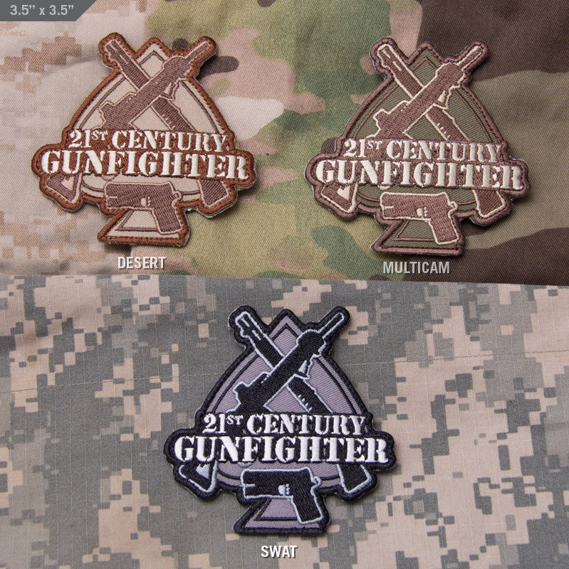 Shop Mil-Spec Monkey 21st Century Gunfighter Patch Collaboration with the good folks 21st Century Gunfighter on this logo patch. Hook velcro sewn on the back