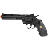 "938 Uhc 6"" Revolver, Black - •Working Hammer •Colored front sight •Black grips"