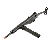 AGM MP058 Sten Gun AEG - FPS: 300-330 RPS: 13-14 Effective Range: 150-170 ft. Full Auto & Safety Functionality Metal Gearbox Metal Body Metal Stock