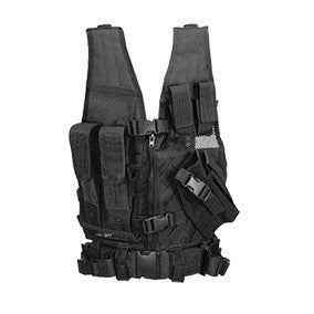 Lancer Tactical (Youth Size) Cross Draw Vest w/Holster