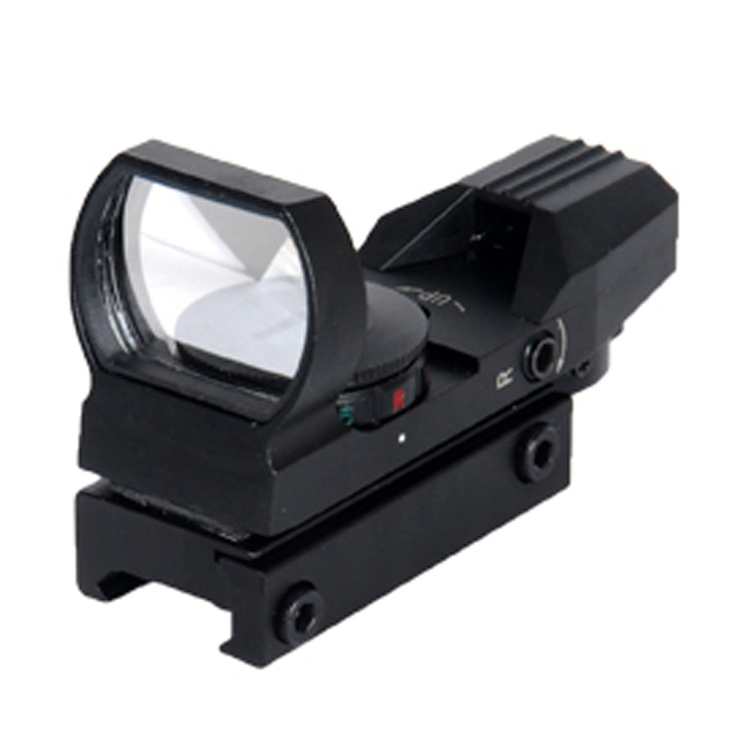 Lancer Tactical Red & Green Dot Reflex Sight w/ 4 Reticles (Black)