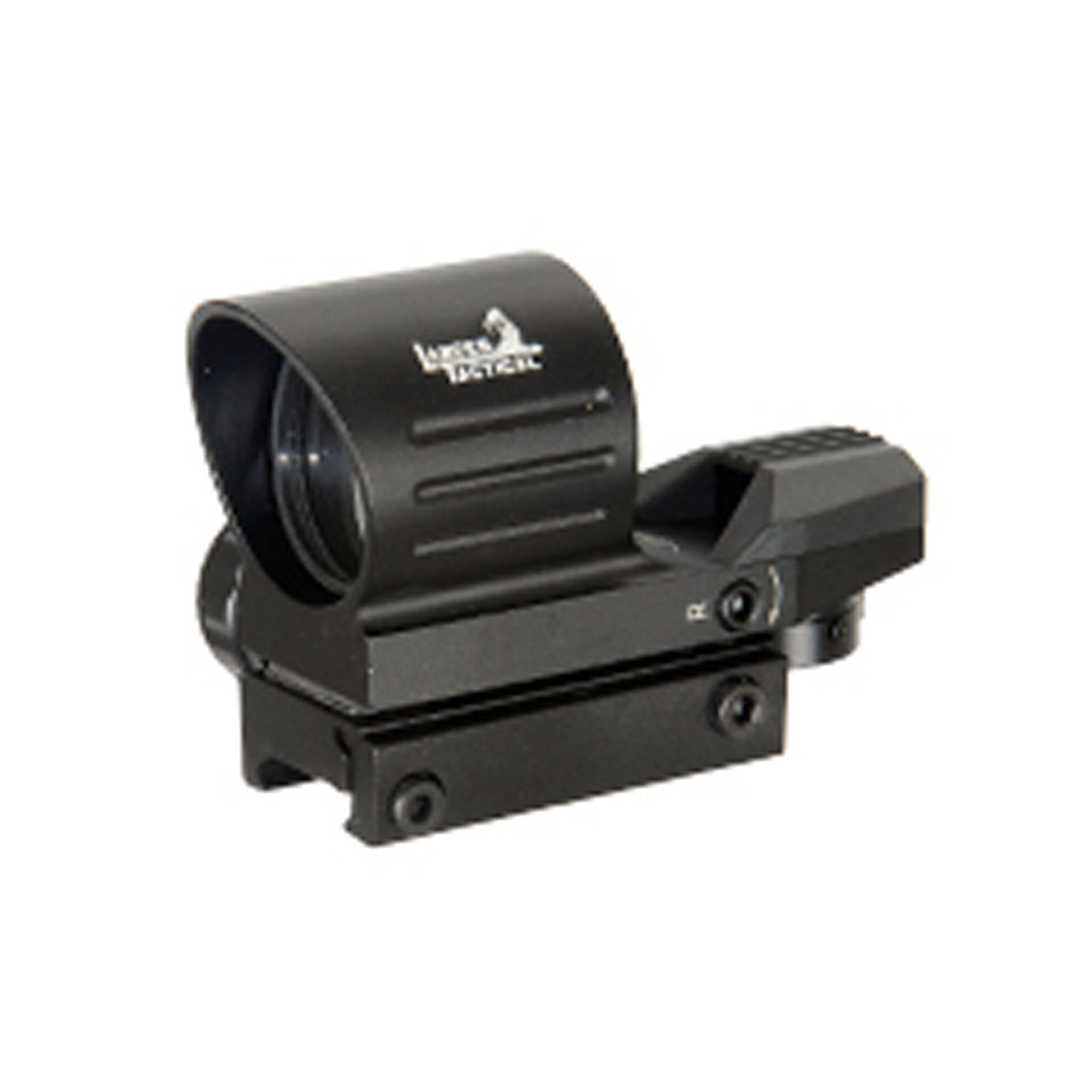 Lancer Tactical Red & Green Tube Reflex Sight w/ 4 Reticles