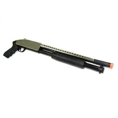 TacForce Spring Powered Shotgun (Pistol Grip - Chrome)