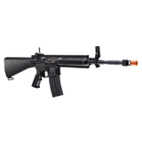 EF 4CRL AEG Airsoft Gun- Muzzle Velocity: 400-440 FPS Magazine Capacity: 300rds, Metal Construction, Full Metal Rail System, Full Stock Design, Flip Up Sights, Free Float RIS