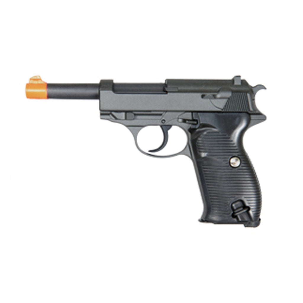 G21S German Style Spring Airsoft Pistol (Silver)