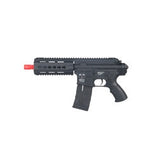 ICS CXP-15 P (PISTOL) SPORT LINE VERSION AEG-GEARBOX: VERSION 2 SPLIT DESIGN SPRING: M100 SPEED: 320 - 330 FPS WEIGHT: 3.85 LBS. LENGTH: 17.5 IN. MAGAZINE CAPACITY: 300 RD