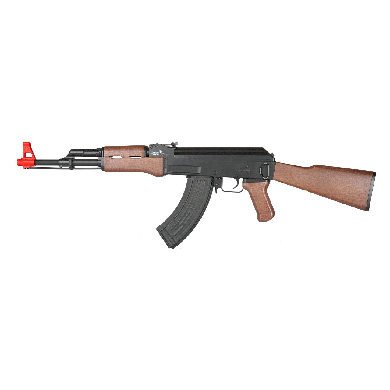 LANCER TACTICAL AK47 AEG RIFLE W/ FULL STOCK