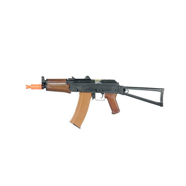 Lancer Tactical LT-07W AK74U AEG Wood Color