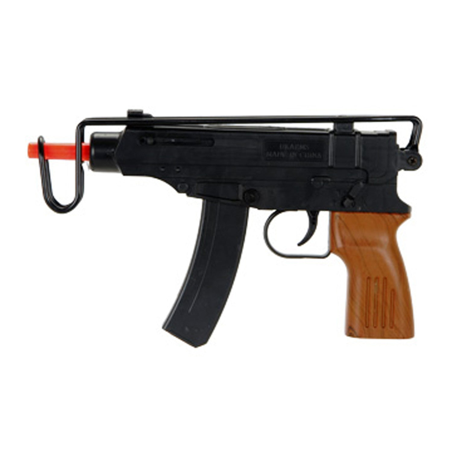 M309A Spring Airsoft Scorpion -       Plastic Construction     Folding Metal Stock     50rd Magazine