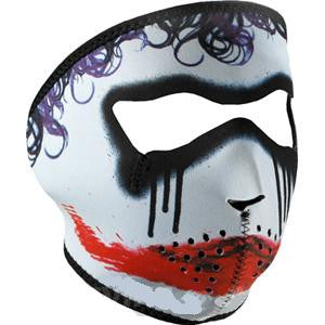 Neoprene Face Mask - Joker Trickster