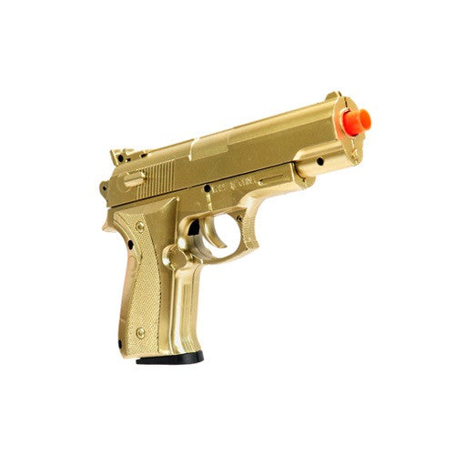 UKARMS Spring Powered Mini Pistol (Gold or Black)