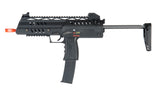 WE SMG-8-BK Gas Powered Gun, Black