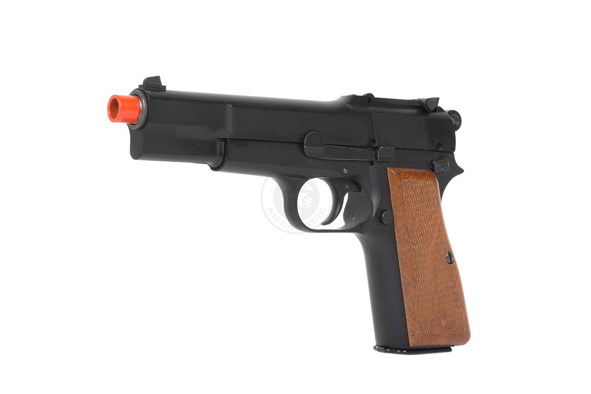 "WE-tech WWII Full Metal ""Hi-Power"" Gas Blowback Airsoft Gun"