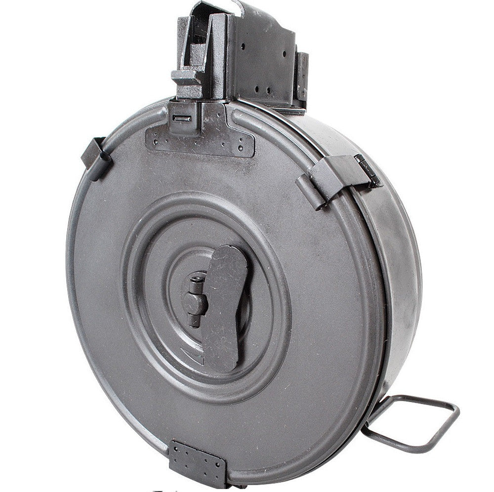 AK-47 steel 75 round drum, wind up