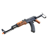FULL SCALE 1 to 1 AK47S Airsoft Gun AEG 330-360 FPS with 0.12 BB's. Tactical Rail ... Cyma AK-47S Metal Gear Box Airsoft Gun
