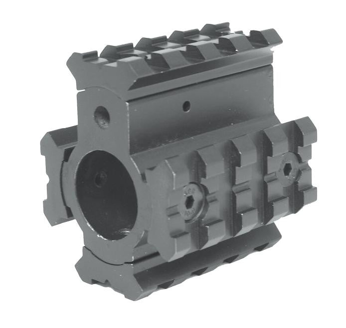 AR-15 Gas Block W/ Rails
