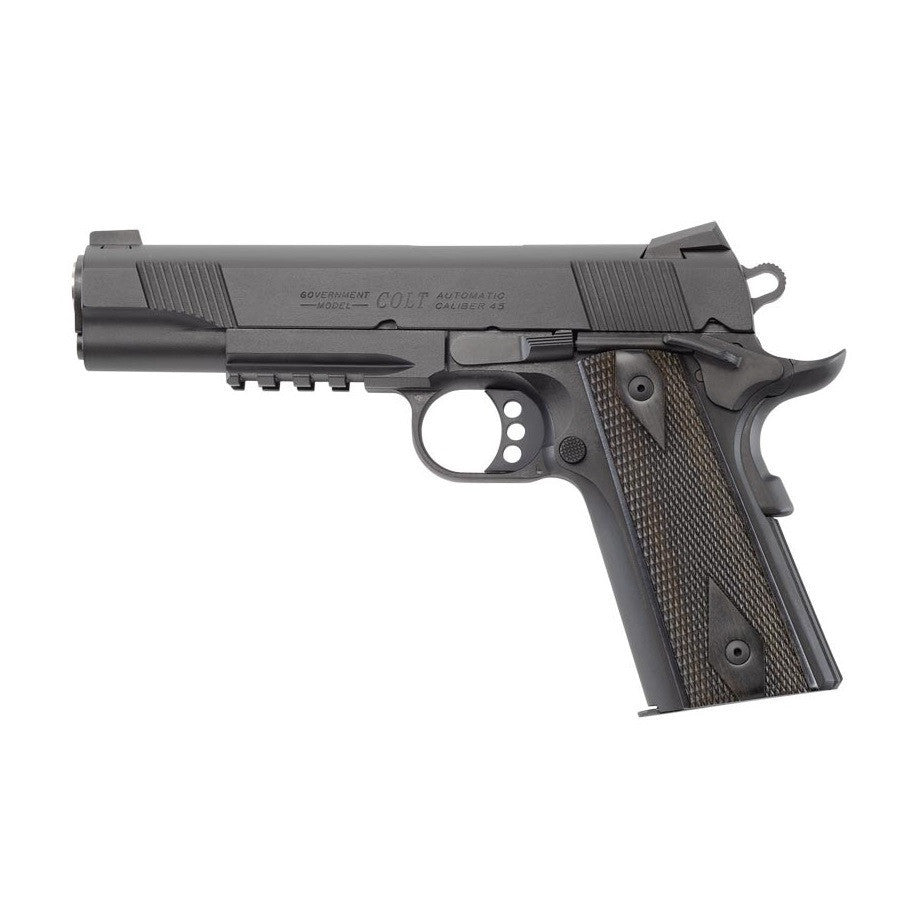 Colt Trademarked Gas Blowback 1911 -       Full Metal     Co2 Powered     17 BB Magazine Cap.     330-350 FPS     Up to 100 ft. Accuracy     4 Colors Available