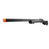 Bolt Action Sniper Rifle Gun w/ Adjustable Rear Stock & Precision Machined Sniper Barrel