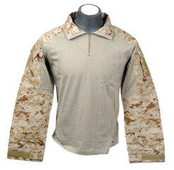Lancer Tactical Gen3 Combat Shirt, CP Desert Digital, Size XL