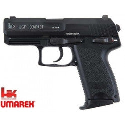 KWA/Umarex H&K USP Compact Metal Slide Gas Blow Back Airsoft Pistol