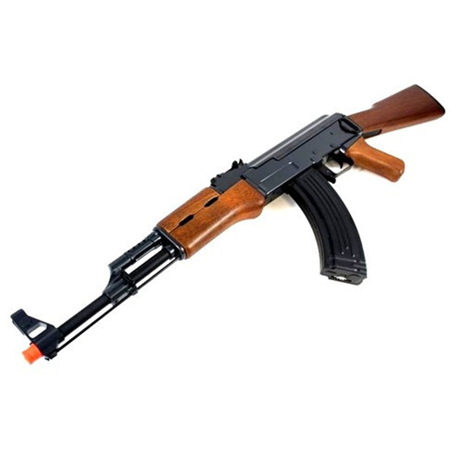 CYMA CM028 Metal Gearbox AK 47 Airsoft AEG CYMA AK-47 - automatic electric rifle, newest version, Ver. 3 metal gearbox, high quality ABS body, 330-360 fps, high accuracy & performance