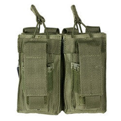 double pistol and rifle mag pouch