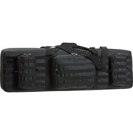 "Double Rifle Case 42"" Black"