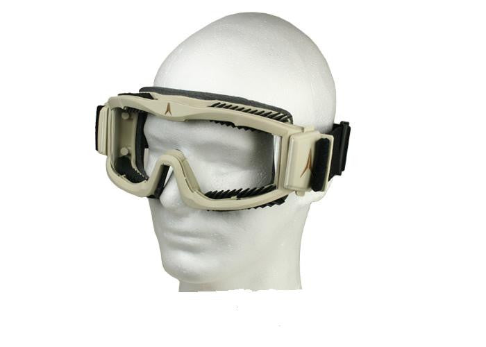 FlakJak Goggles (TAN)