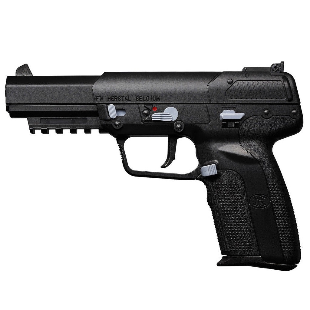 FN Five-seveN CO2 Pistol - FPS: 280 w/.20g BBs Mag Capacity: 26 rounds Power CO2 Length: 8.3 inches Weight: 1.65 lbs