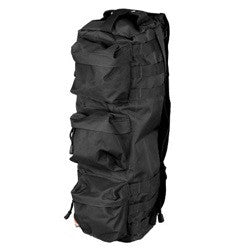 "Lancer Tactical Shoulder ""Go Pack"" Bag, Black, Tan, Multi-Camo"