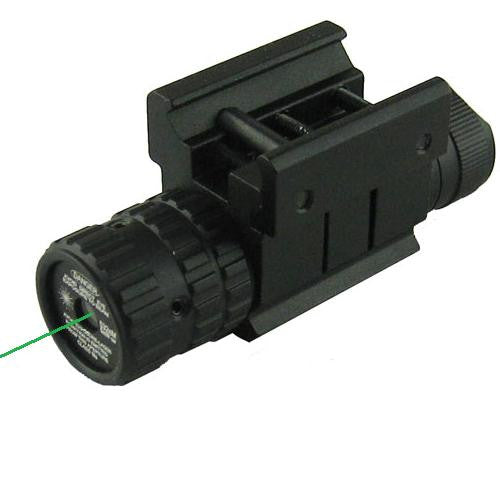 Tactical Green Laser Sight With Weaver Mount and pressure pad