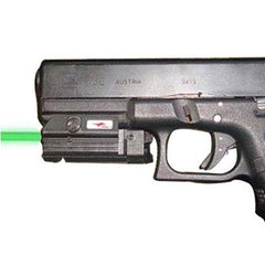 GREEN LASER SIGHT FOR RAILED PISTOLS - UNIVERSAL