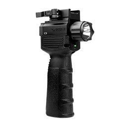 NcSTAR Vertical Grip w/LED Flashlight & Green Laser