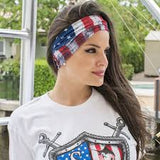American Flag Multi Purpose cloth Face Mask Balaclava Neck Guard