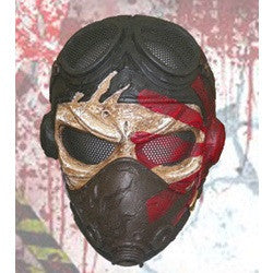 Kamikaze Mask Airsoft Full Face Wire Mesh