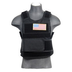 Lancer Tactical Body Armor Vest w/ Airsoft Ballistic Plates