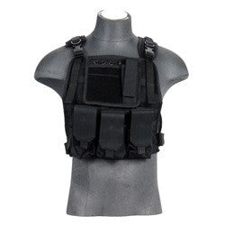 Lancer Tactical Molle Plate Carrier Vest
