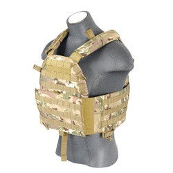 Lancer Tactical Plate Carrier Vest Multi-Cam