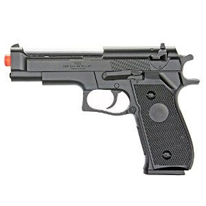 M2 Spring Loaded Airsoft Pistol W/O Mock Silencer