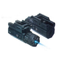 NcSTAR compact Blue Laser with Rail Mount for pistol or rifle