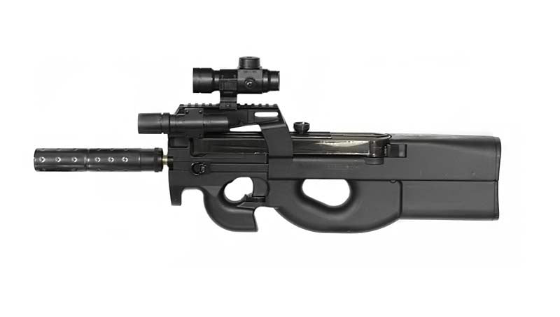 WELL D90H (p90) With Accessories and Target