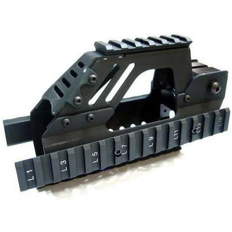 Rail Interface System for P90 Series Airsoft AEG
