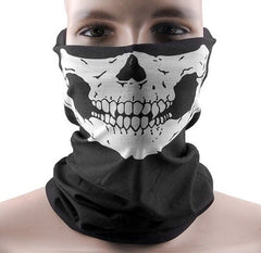 Skull Multi Purpose cloth Face Mask Balaclava Neck Guard