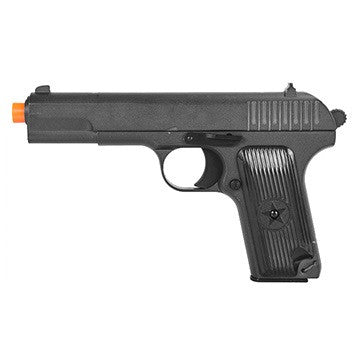 G33 Full Metal Tokarev Spring Pistol -       Full metal construction     Spring Powered     Life-like size     Realistic feel
